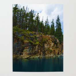 Horseshoe Lake in Jasper National Park, Canada Poster