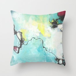 Curiosity Revealed Throw Pillow