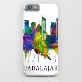 Guadalajara Mexico Skyline iPhone Case