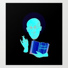 Saint Bonjo Art Print