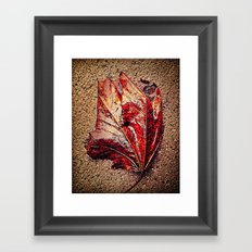 'WETLEAF' Framed Art Print