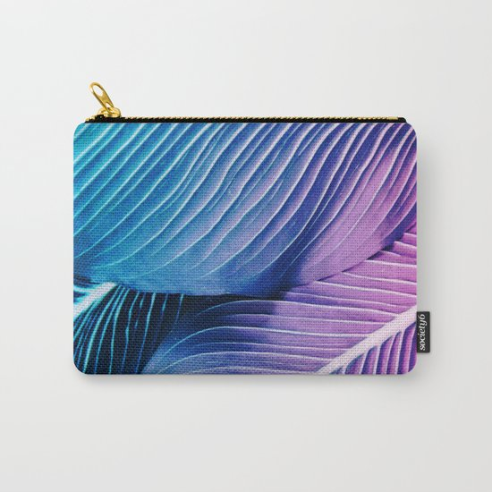 Tropical Foliage Carry-All Pouch
