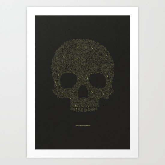 FROM HELL Art Print
