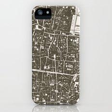 London Map Slim Case iPhone (5, 5s)