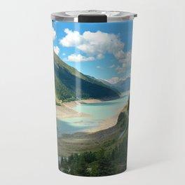 Gepatsch Reservoir Kaunertal Glacier Austria Alps Landscape Travel Mug