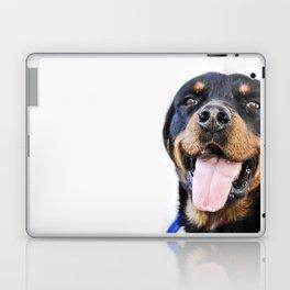 Happy rottweiler Laptop & iPad Skin