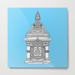 The Temple of Sarpachandra Metal Print