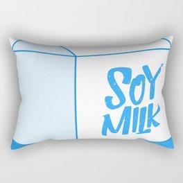 soy milk Rectangular Pillow