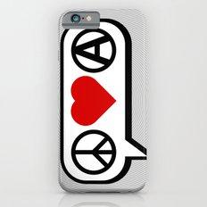 Peace. Love. Anarchy. Slim Case iPhone 6s