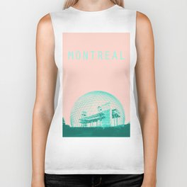 Montreal Biosphere Pastel Biker Tank