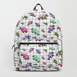Retro Roller Boogie Backpack
