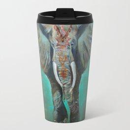 Mandala Elephant Travel Mug