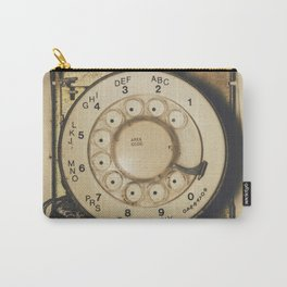 No Dial Tone Carry-All Pouch
