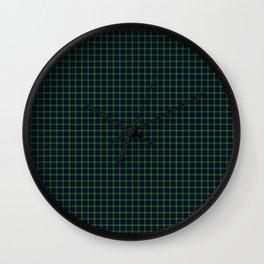 Sutherland Tartan Wall Clock