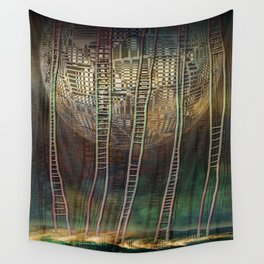 Atlante 13-06-16 / STAIRS Wall Tapestry