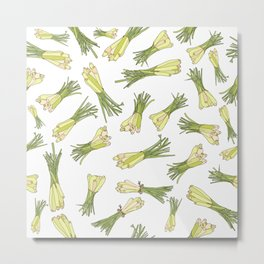 Lemongrass Metal Print