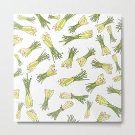 Lemongrass Metal Print