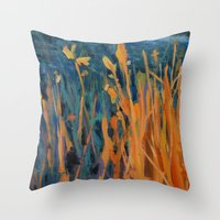 kansas Throw Pillows featuring Kansas Prairie  by Brian Timmer Art