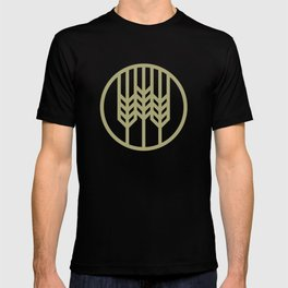 Wheat Circle Graphic T-shirt