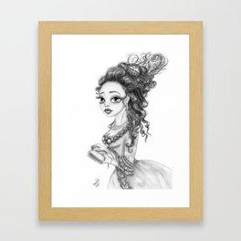 Queen Marie Framed Art Print