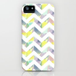 Abstract Color Chevron iPhone Case