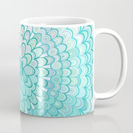 Ice Flower Mandala Coffee Mug