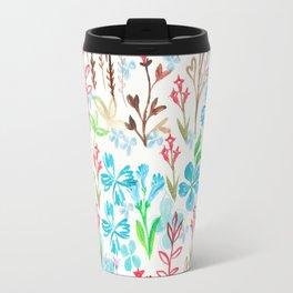Azure flower garden Travel Mug