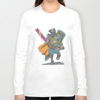 dungeons and dragons Long Sleeve T-shirts featuring Dungeons & Dragons & DOOM by Floating Disc