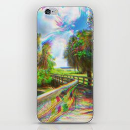 Trippy Walkway iPhone Skin