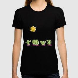 Cacti In The Arizona Desert Sun T-shirt