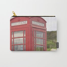 Phone box on the Isle of Skye Carry-All Pouch