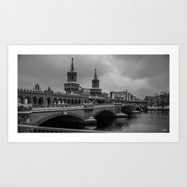 Oberbaumbrücke Art Print