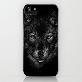 wolf - lupo - loup - lobo iPhone Case