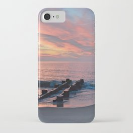 cotton candy beach sky iPhone Case