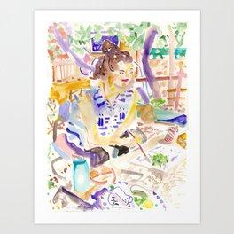 Hadar Art Print