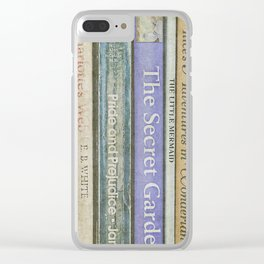 Storybook Clear iPhone Case