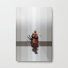 Samurai Ojiisama Metal Print
