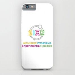 SIXR: Simulated Immersive eXpermental Realities iPhone Case