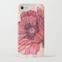 poppy iPhone & iPod Cases featuring Poppy by Annike