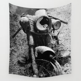 fire damage Wall Tapestry