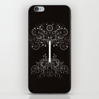 gondor iPhone & iPod Skins featuring The White Tree by Danny Schlitz