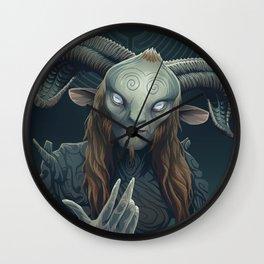Faun Wall Clock