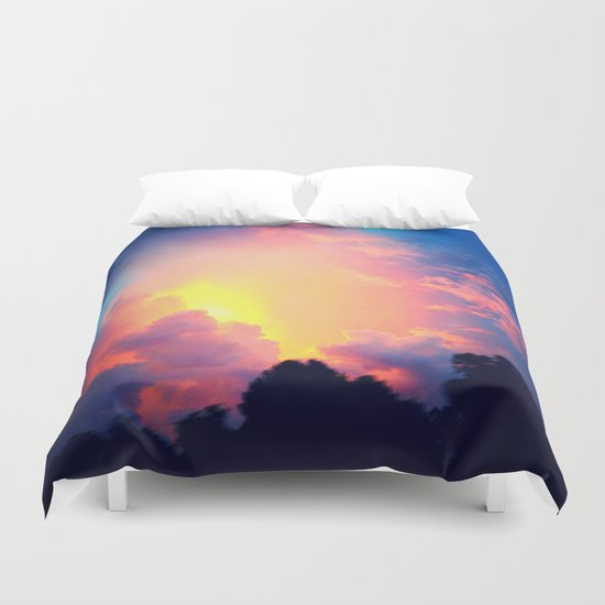 The Last Spark Duvet Cover