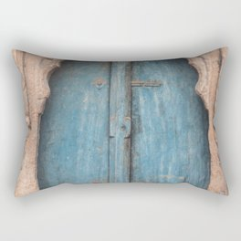 Doors Of India 2 Rectangular Pillow
