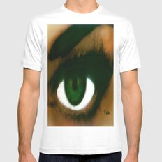 ENVY White MEDIUM Mens Fitted Tee