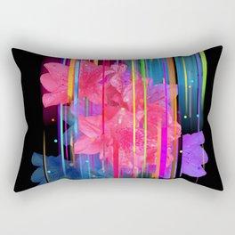 Night Blooming Bouquet Rectangular Pillow