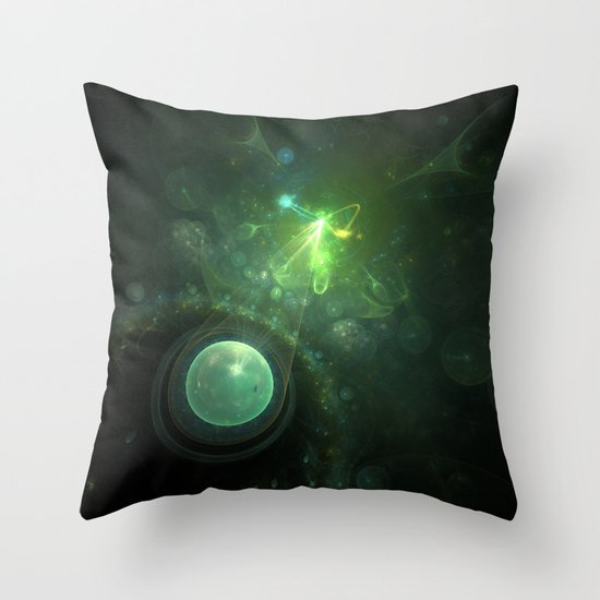 Born of the Stars Throw Pillow