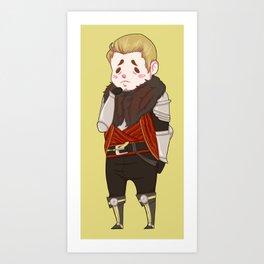 Smoll Cullen Art Print