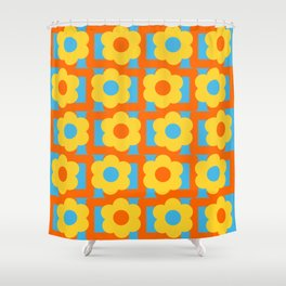Vintage texture inverted Shower Curtain