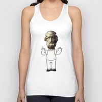 simpson Tank Tops featuring HOMER simpson by sharon